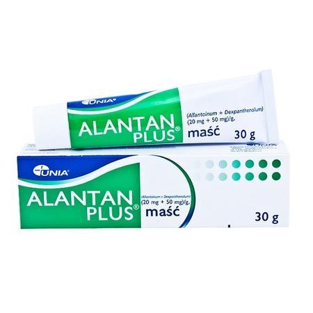 Unia, Alantan Plus maść marki Unia - zdjęcie nr 1 - Bangla
