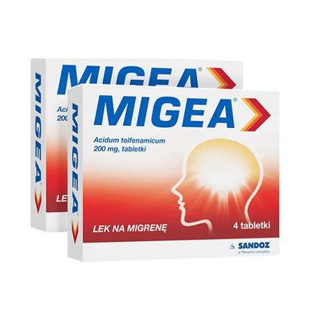 Migea, Lek na migrenę marki Sandoz - zdjęcie nr 1 - Bangla