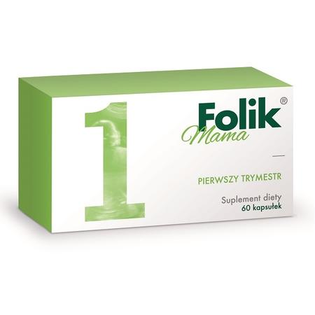 Folik Mama, 1 trymestr (suplement diety) marki Gedeon Richter - zdjęcie nr 1 - Bangla