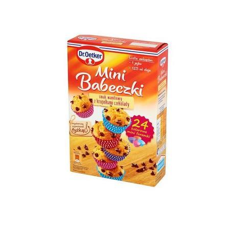 Mini babeczki smak waniliowy z kropelkami czekolady, babeczki marki Dr Oetker - zdjęcie nr 1 - Bangla