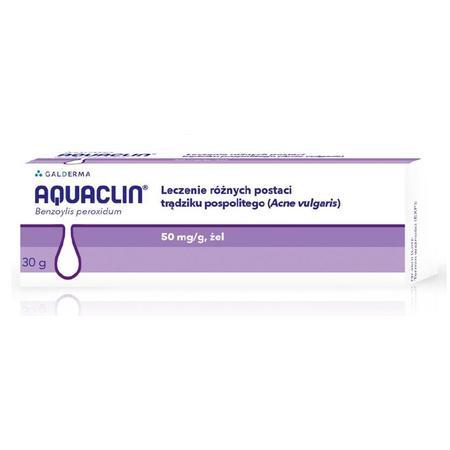 Aquaclin, żel o działaniu przeciwtrądzikowym. marki Galderma - zdjęcie nr 1 - Bangla