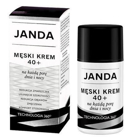 Janda, Męski krem 40+ na każdą porę dnia i nocy marki Krystyna Janda Sp. z o.o. - zdjęcie nr 1 - Bangla