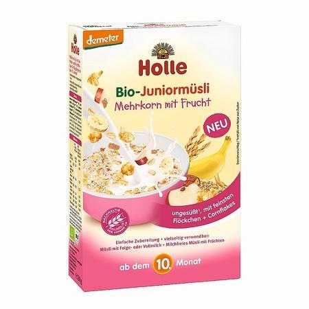 BIO, Kaszka musli pelnoziarniste z owocami junior marki Holle baby food GmbH - zdjęcie nr 1 - Bangla