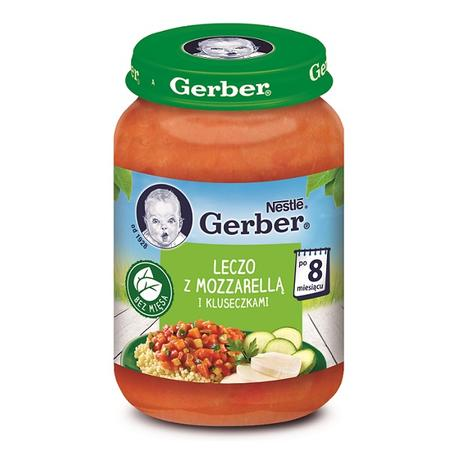 Gerber, Leczo z mozzarellą i kluseczkami marki Kaszki Nestlé - zdjęcie nr 1 - Bangla