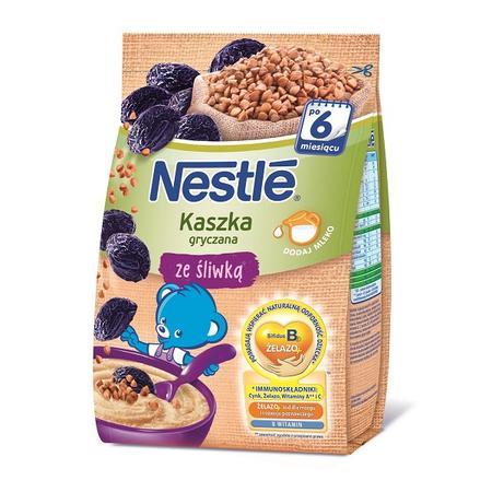Kaszka gryczana ze śliwką, dla niemowląt po 6. miesiącu życia marki Kaszki Nestlé - zdjęcie nr 1 - Bangla