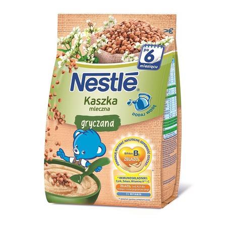 Kaszka gryczana mleczna, dla niemowląt po 6. miesiącu życia marki Kaszki Nestlé - zdjęcie nr 1 - Bangla