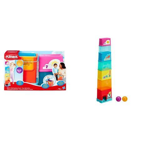 Hasbro, Piłeczkowa wieża Playskool marki Hasbro - zdjęcie nr 1 - Bangla