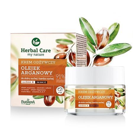 Herbal Care, Odżywczy krem do skóry suchej i bardzo suchej Olejek Araganowy marki Farmona - zdjęcie nr 1 - Bangla
