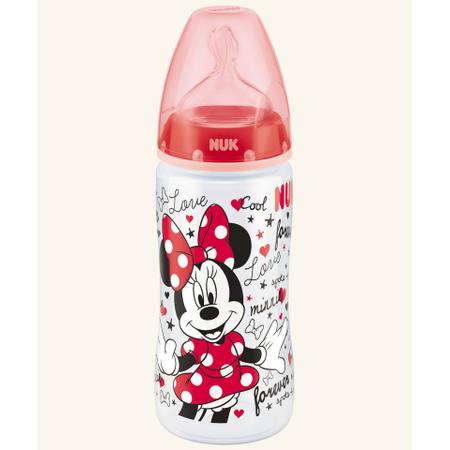 NUK First Choice Plus Myszka Miki, butelka z silikonowym smoczkiem marki Nuk - zdjęcie nr 1 - Bangla