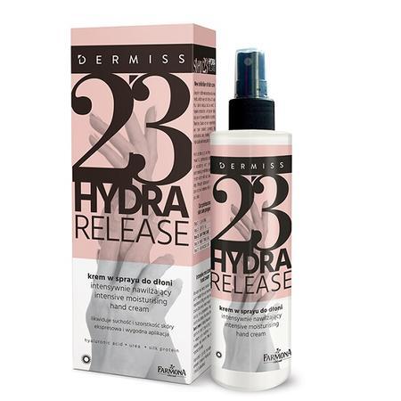 Dermiss 23 Hydra Release, Krem w sprayu do dłoni intensywnie nawilżający marki Farmona - zdjęcie nr 1 - Bangla
