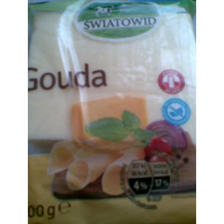 Gouda, Żółty ser w kawałku 400 g marki Światowid - zdjęcie nr 1 - Bangla