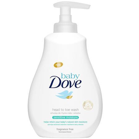 Baby Dove Sensitive Moisture, Emulsja do mycia ciała i włosów marki Unilever - zdjęcie nr 1 - Bangla