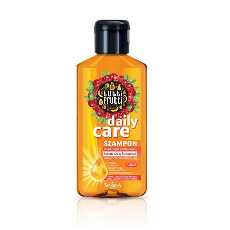 Tutti Frutti Daily Care, Szampon do włosów normalnych Aragan Oil & Żurawina marki Farmona - zdjęcie nr 1 - Bangla