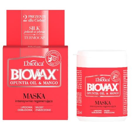 Biovax Opuntia Oil & Mango, Maska intensywnie regenerująca marki Biovax - zdjęcie nr 1 - Bangla