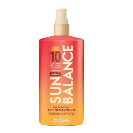 Sun Balance, Wodoodporny suchy olejek do opalania SPF10 marki Farmona - zdjęcie nr 1 - Bangla