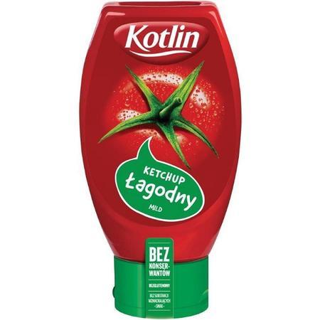 Kotlin, Ketchup łagodny/ bez konserwantów marki Kotlin - zdjęcie nr 1 - Bangla