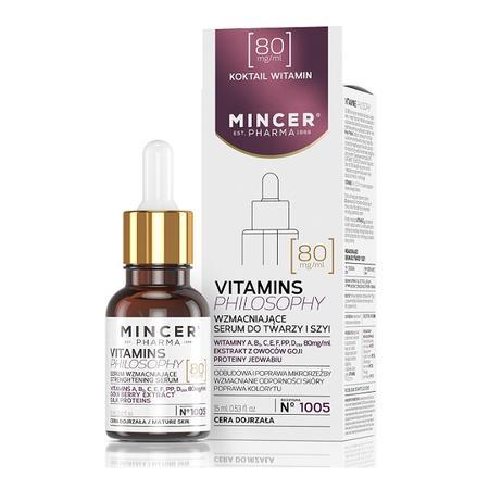 Vitamin Philosophy, Przeciwzmarszczkowe serum do twarzy i szyi marki Mincer Pharma - zdjęcie nr 1 - Bangla