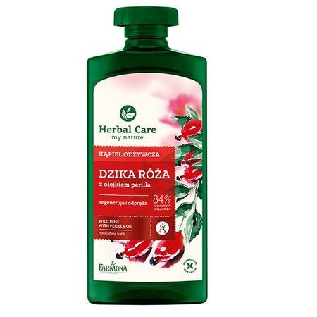 Herbal Care, Kąpiel odżywcza Dzika róża z olejkiem perilla marki Farmona - zdjęcie nr 1 - Bangla