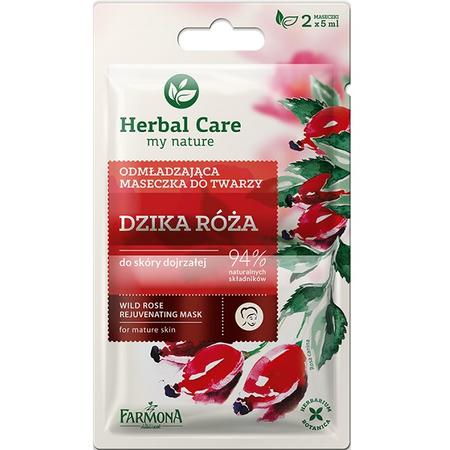 Herbal Care, Odmładzająca maseczka do twarzy Dzika Róża marki Farmona - zdjęcie nr 1 - Bangla