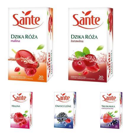 Sante, Herbatki owocowe - różne smaki marki Sante - zdjęcie nr 1 - Bangla