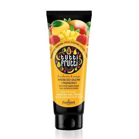 Tutti Frutti Brzoskwinia & Mango, Krem do dłoni i paznokci marki Farmona - zdjęcie nr 1 - Bangla