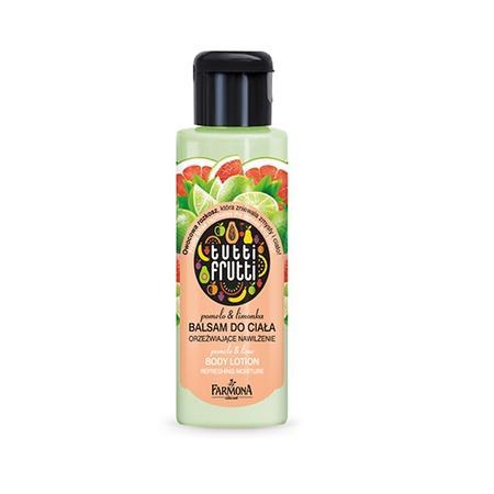 Tutti Frutti Pomelo & Limonka, Balsam do ciała wersja mini marki Farmona - zdjęcie nr 1 - Bangla