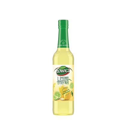 Łowicz, syrop limonka i cytryna marki Grupa Maspex Wadowice - zdjęcie nr 1 - Bangla