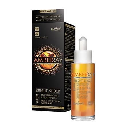 Amberray Bright Shock, Multifunkcyjne serum rozjaśniające na dzień i na noc marki Farmona - zdjęcie nr 1 - Bangla