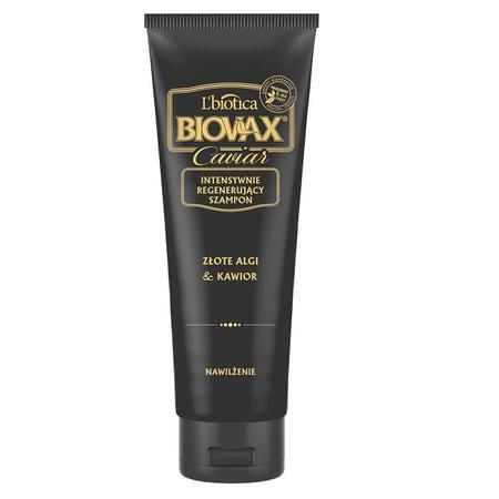 Biovax Caviar, Intensywnie regenerujący szampon Złote Algi & Kawior marki Biovax - zdjęcie nr 1 - Bangla