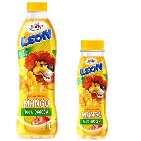 Leon 100% owoców, Sok Jabłko, banan, mango marki Hortex - zdjęcie nr 1 - Bangla