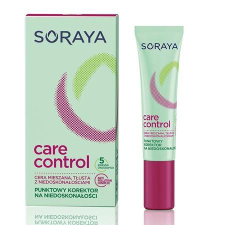 Care Control, Punktowy korektor na niedoskonałości marki Soraya - zdjęcie nr 1 - Bangla