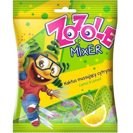 Zozole Mixer Kaktus&Cytryna, Cukierki musujące marki Mieszko - zdjęcie nr 1 - Bangla