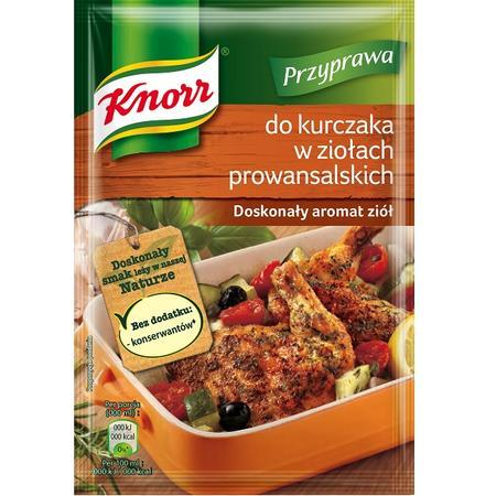 Knorr, Przyprawa do kurczaka w ziołach prowansalskich marki Knorr - zdjęcie nr 1 - Bangla
