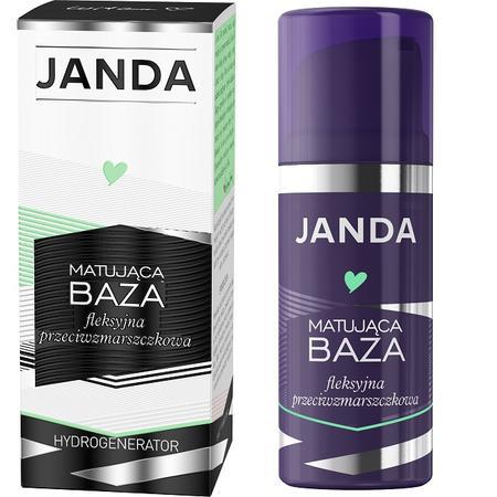 Janda, Matująca baza fleksyjna przeciwzmarszczkowa marki Krystyna Janda Sp. z o.o. - zdjęcie nr 1 - Bangla