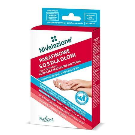 Nivelazione, Trzystopniowa kuracja parafinowa do dłoni dla skóry przesuszonej i bardzo zniszczonej marki Farmona - zdjęcie nr 1 - Bangla