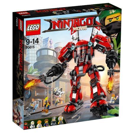 The Ninjago Movie, Ognisty robot (70615) marki Lego - zdjęcie nr 1 - Bangla