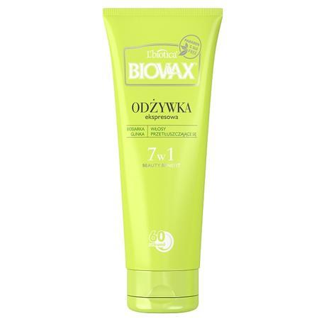 Biovax, Odżywka ekspresowa 7w1 do włosów przetłuszczających się (biosiarka , glinka) marki Biovax - zdjęcie nr 1 - Bangla