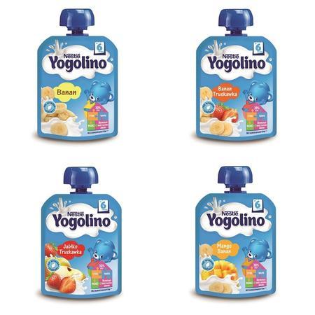 Yogolino, Deserek owocowo-mleczny - różne smaki marki Kaszki Nestlé - zdjęcie nr 1 - Bangla