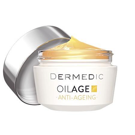 OilAge Anti-Ageing, Naprawczy krem na noc przywracający gęstość skóry marki Dermedic - zdjęcie nr 1 - Bangla