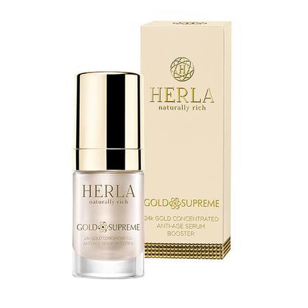 Gold Supreme, Booster skoncentrowane serum odmładzające 24k Złoto marki Herla - zdjęcie nr 1 - Bangla