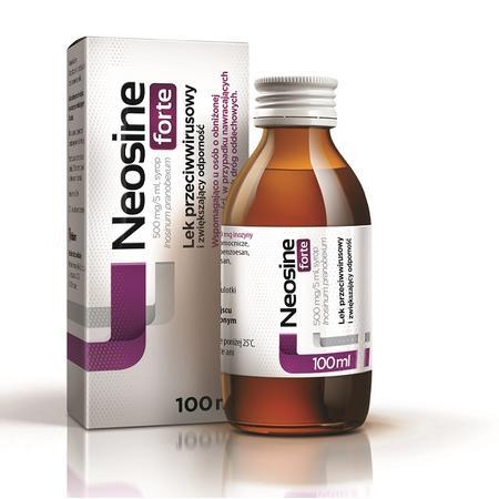 Neosine Forte, Lek przeciwwirusowy i wzmacniający odporność marki Aflofarm - zdjęcie nr 1 - Bangla