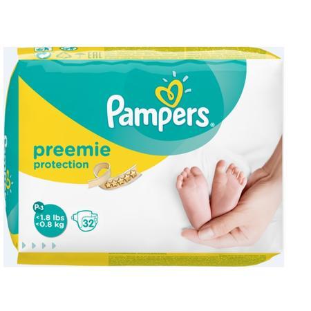 Preemie Protection, Pieluszki dla wcześniaków (rozmiar P3) marki Pampers - zdjęcie nr 1 - Bangla