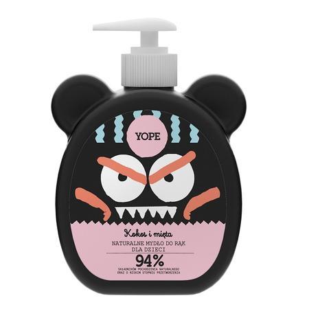 Naturalne mydło do rąk dla dzieci Kokos i mięta marki YOPE - zdjęcie nr 1 - Bangla