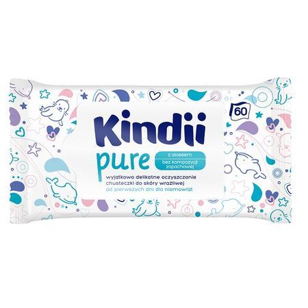 Kindii Pure, Chusteczki nawilżane do skóry wrażliwej marki Kindii - zdjęcie nr 1 - Bangla