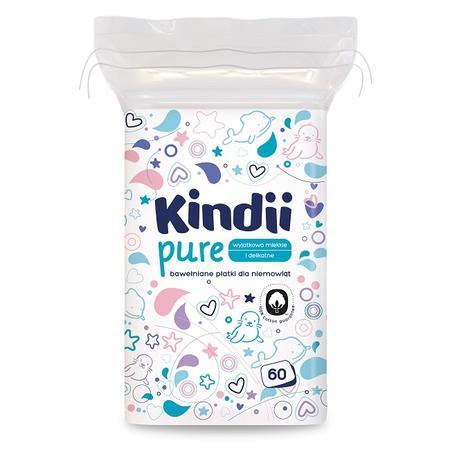 Kindii Pure, Bawełniane płatki dla niemowląt marki Kindii - zdjęcie nr 1 - Bangla