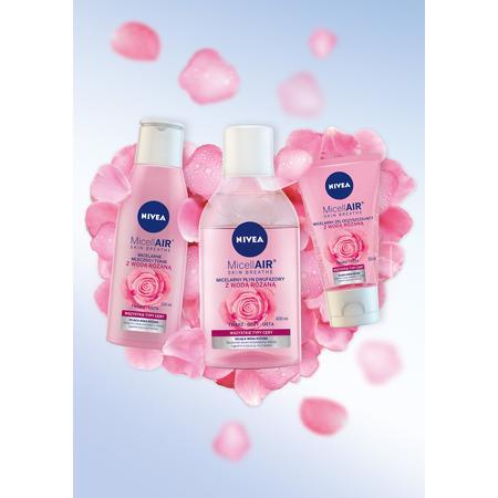 Kosmetyki do twarzy MicellAIR SKIN BREATHE z wodą różaną marki Nivea - zdjęcie nr 1 - Bangla
