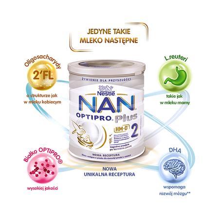 NAN OPTIPRO Plus 2 HM-O mleko następne marki Nestlé NAN OPTIPRO Plus - zdjęcie nr 1 - Bangla