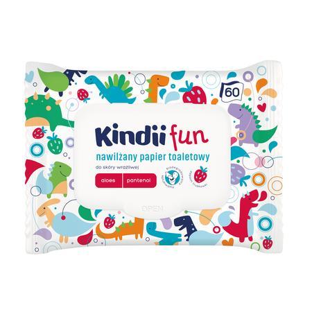 Kindii Fun – nawilżany papier toaletowy marki Kindii - zdjęcie nr 1 - Bangla