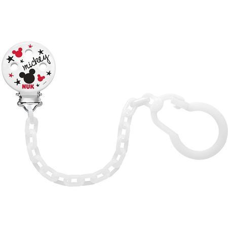 Łańcuszek do smoczka uspokajającego Disney Myszka Miki marki Nuk - zdjęcie nr 1 - Bangla