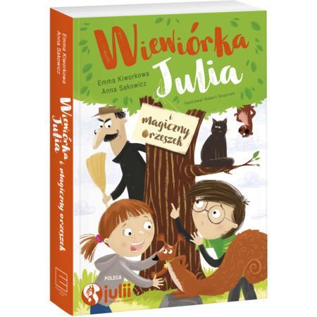 Wiewiórka Julia i magiczny orzeszek marki Edipresse Książki - zdjęcie nr 1 - Bangla